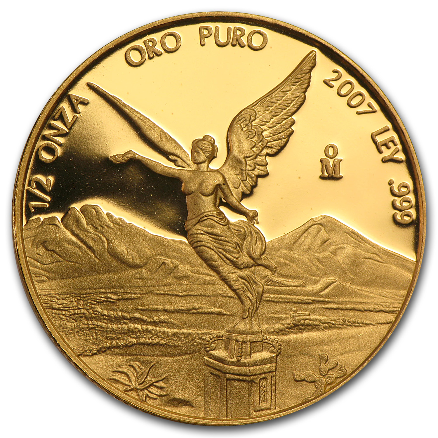 2007 Mexico 1/2 oz Proof Gold Libertad